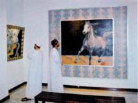 Gallery horses oman