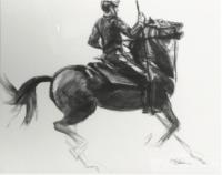 Rider on Horse IV