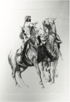 Rider on Horse II/Trumpeter and Charger